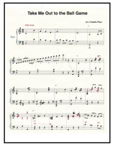 Claudia's Musical Arrangements – The Harp Place